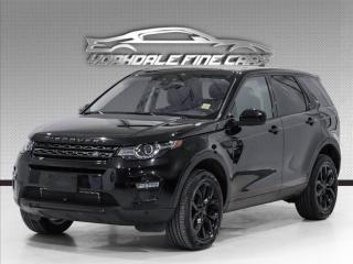 Used 2017 Land Rover Discovery Sport AWD HSE Black Package, Navigation, 360 Cam, Panoramic for sale in Concord, ON