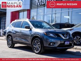Used 2016 Nissan Rogue SL AWD Moonroof Navi Blind Spot 360 Camera for sale in Maple, ON