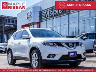 Used 2015 Nissan Rogue SV AWD 7 Seats Blind Spot Navi Bluetooth 360 Cam for sale in Maple, ON