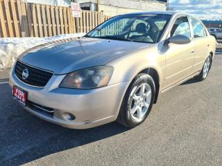 Used 2006 Nissan Altima 4dr Sdn I4 Auto 2.5 SL | Fully Loaded | Leather | Sun-Roof for sale in Mississauga, ON