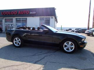 Used 2012 Ford Mustang V6 Convertible 3.7L Automatic No Accident Certified for sale in Milton, ON