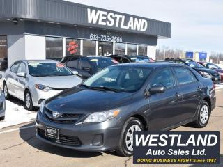 Used 2012 Toyota Corolla for sale in Pembroke, ON