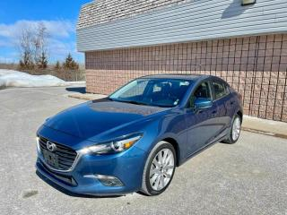 Used 2018 Mazda MAZDA3 GT | NAVI | SUNROOF | HEATED STEERING | for sale in Barrie, ON