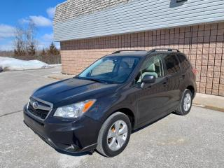 Used 2014 Subaru Forester 2.5i Limited | AWD | BACKUP CAM | SUNROOF | for sale in Barrie, ON