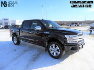Used 2020 Ford F-150 Platinum  - Leather Seats - Low Mileage for sale in Paradise Hill, SK