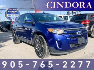 Used 2013 Ford Edge SEL,AWD,Leather Clean Carfax, Pano Roof, Nav for sale in Caledonia, ON