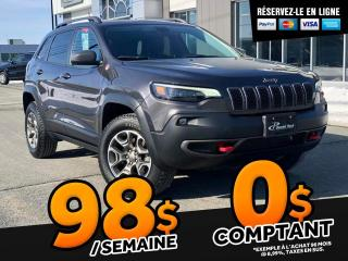 Used 2020 Jeep Cherokee TRAILHAWK  V6 CAMERA BLEUTOOTH for sale in Ste-Marie, QC