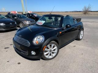 Used 2015 MINI Cooper Convertible Automatique,convertible groupe Électrique!!! for sale in Carignan, QC