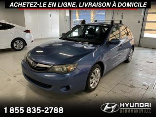 Used 2010 Subaru Impreza AWD + GARANTIE + A/C + CRUISE + WOW !! for sale in Drummondville, QC
