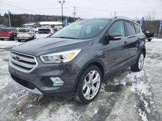 Used 2019 Ford Escape TITANIUM AWD, 2L ECOBOOST, ENS. REMORQU for sale in Vallée-Jonction, QC