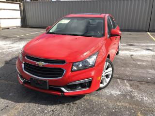 Used 2016 Chevrolet Cruze Limited 2LT for sale in Cayuga, ON