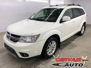 Used 2017 Dodge Journey SXT 7 PASSAGERS GPS DVD TOIT OUVRANT MAGS *Bas Kilométrage* for sale in Shawinigan, QC