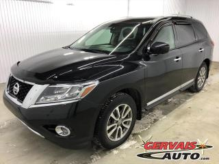 Used 2016 Nissan Pathfinder SL 4WD GPS CUIR TOIT PANORAMIQUE MAGS 7 PASSAGERS *Traction intégrale* for sale in Shawinigan, QC