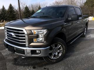 Used 2016 Ford F-150 XLT CREW XTR 4WD for sale in Cayuga, ON