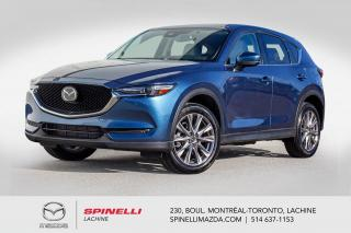 Used 2019 Mazda CX-5 GTTurbo Cuir Toit GPS Apple Car Play Androit Auto Mazda CX-5 GT Turbo 2019 for sale in Lachine, QC