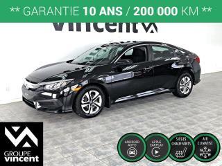 Used 2018 Honda Civic LX ** GARANTIE 10 ANS ** Le plaisir de conduire, sans sacrifier la fiabilité! for sale in Shawinigan, QC