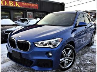 Used 2017 BMW X1 M SPORT PKG-xDrive28i-TOIT PANORAMIQUE-CAM RECUL- for sale in Laval, QC