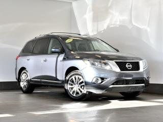 Used 2013 Nissan Pathfinder SL AWD cuir toit ouvrant volant sièges chauffants for sale in Ste-Julie, QC