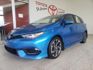 Used 2017 Toyota Corolla iM * MAGS * CAMÉRA DE RECUL *  SIÈGES CHAUFFANTS * for sale in Mirabel, QC