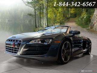 Used 2012 Audi R8 SPYDER | V10 | CLEAN CARFAX | S-TRONIC | CARBON | for sale in Oakville, ON