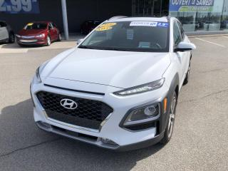 Used 2020 Hyundai KONA 1.6T Ultimate AWD,TOIT,CUIR,NAV,APP CONNECT +++ for sale in Mirabel, QC