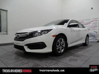 Used 2018 Honda Civic LX + BLUETOOTH + CAMERA ! for sale in Trois-Rivières, QC