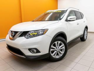 Used 2016 Nissan Rogue SV AWD CAMÉRA SIÈGES CHAUFFANTS *TOIT PANORAMIQUE* for sale in Mirabel, QC