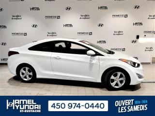 Used 2013 Hyundai Elantra GLS COUPÉ **A/C - MAGS - TOIT** for sale in St-Eustache, QC