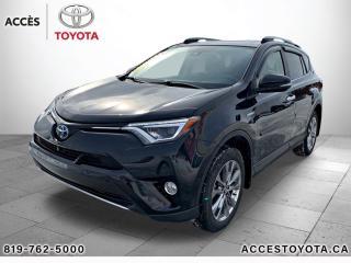 Used 2017 Toyota RAV4 Hybrid AWD Limited for sale in Rouyn-Noranda, QC
