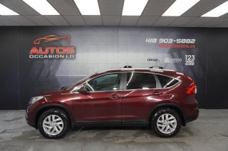 Used 2016 Honda CR-V EX AWD + TOIT OUVRANT MAGS CAMERA DÉMARREUR SIÈGES for sale in Lévis, QC