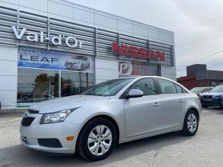 Used 2014 Chevrolet Cruze 1LT * AUTO * GR ÉLEC. * A/C BAS PRIX!! BONNE CONDITION!! for sale in Val-d'Or, QC