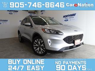 Used 2020 Ford Escape TITANIUM | HYBRID | AWD | 1 OWNER | ROOF | NAV for sale in Brantford, ON
