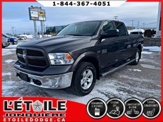 Used 2018 RAM 1500 SLT cabine d'équipe 4x4 caisse de 6,4 pi for sale in Jonquière, QC