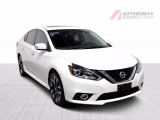 Used 2017 Nissan Sentra SR Turbo A/C Mags Cuir Toit GPS Sièges Chauffants for sale in Île-Perrot, QC
