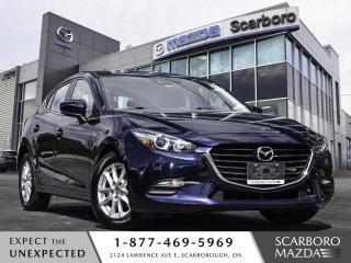 Used 2018 Mazda MAZDA3 Sport GS|HATCHBACK|BLIND SPOT MONITOR|REAR CAMERA for sale in Scarborough, ON