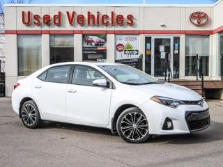 Used 2016 Toyota Corolla S NAVI SUNROOF ALLOYS LEATHER - SUPER LOW KMS!!! for sale in North York, ON