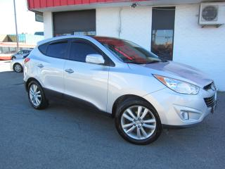 Used 2012 Hyundai Tucson Limited $9,995+HST+LIC FEE / ALL WHEEL DRIVE /CLEAN CARFAX for sale in North York, ON