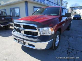 Used 2014 Dodge Ram 1500 GREAT KM'S TRADESMEN EDITION 6 PASSENGER 5.7L - HEMI ENGINE.. 4X4 SYSTEM.. QUAD-CAB.. SHORT-BOX.. TOW SUPPORT.. AUX/USB INPUT.. KEYLESS ENTRY.. for sale in Bradford, ON