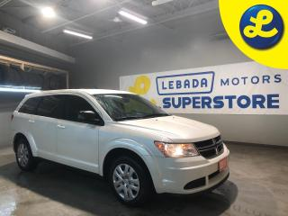 Used 2017 Dodge Journey SE Plus * 7 Passenger * UConnect * Weather Tech Floor Mats * Cruise Control * Steering Wheel Controls * Push Button Start * AM/FM/SXM/CD/USB/Aux/Bluet for sale in Cambridge, ON