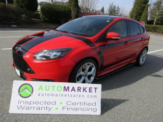 Used 2014 Ford Focus ST 6sp SVC HISTORY INSP WARR FINANCE BCAA MEMBERSHIP for sale in Surrey, BC