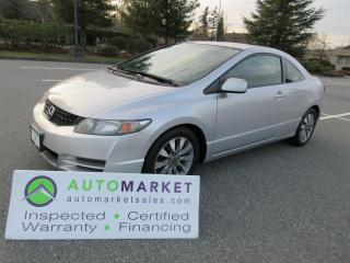 Used 2009 Honda Civic EX-L AUTO ROOF LEATHER INSPECTED FINANCE FREE WARR & BCAA MBSHP for sale in Surrey, BC