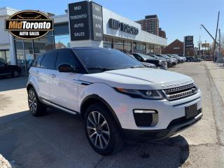 Used 2017 Land Rover Evoque HSE | Navigation | Panoramic Glass Roof | Heads Up Display | 360 Camera | Excellent Condition for sale in North York, ON
