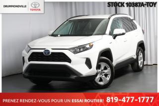 Used 2019 Toyota RAV4 ** HYBRIDE!! **  SUIVI D'ENTRETIEN ICI MÊME! for sale in Drummondville, QC