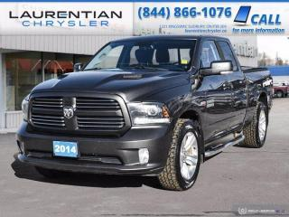 Used 2014 RAM 1500 Sport!!  4WD!!  HEATED SEATS!!  HEATED WHEEL!! for sale in Sudbury, ON