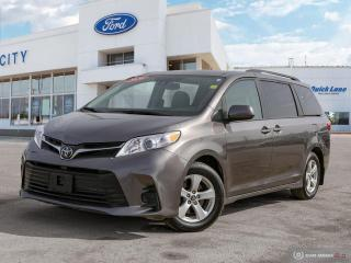Used 2020 Toyota Sienna LE for sale in Winnipeg, MB