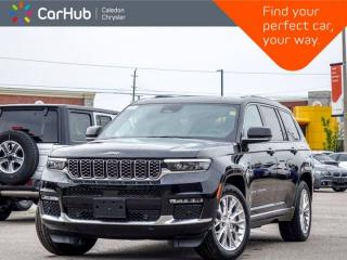 New 2021 Jeep Grand Cherokee L Summit 4x4 6 Seater Navigation Panoramic Sunroof Remote Start Blind Spot Leather 20
