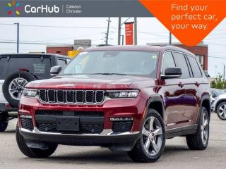 New 2021 Jeep Grand Cherokee L Limited 4x4 6 Seater Navigation Panoramic Sunroof Trailer Tow Group Remote Start Leather 20