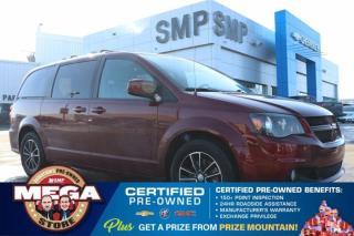 Used 2018 Dodge Grand Caravan GT- Leather, DVD, Navigation, Pwr Sliding Doors, Rem Start for sale in Saskatoon, SK