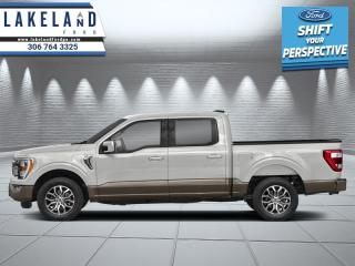 New 2021 Ford F-150 Lariat  - Leather Seats - $463 B/W for sale in Prince Albert, SK