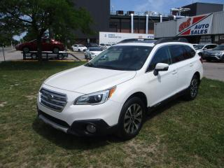 Used 2015 Subaru Outback 3.6R w/Limited Pkg ~ LEATHER ~ NAV ~ REAR CAMERA for sale in Toronto, ON